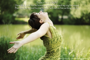 Psalm 116.1-2