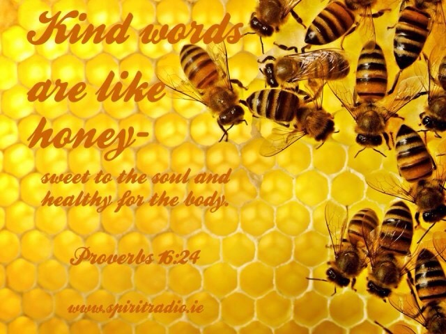 Honey from the Honeycomb: Sweet Are the Words Spoken by God