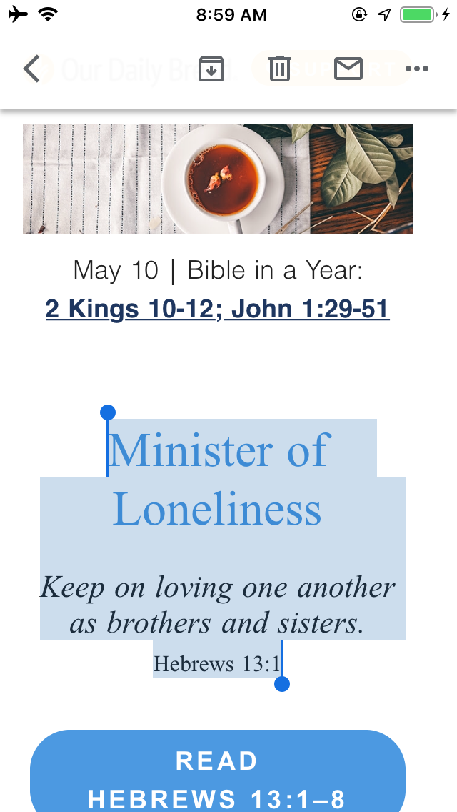 My Daily Bread 🍞 ️📖- For the invisible things of Him(GOD ️ ...